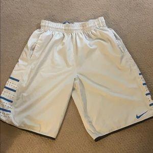 Nike Hyperlite White Shorts